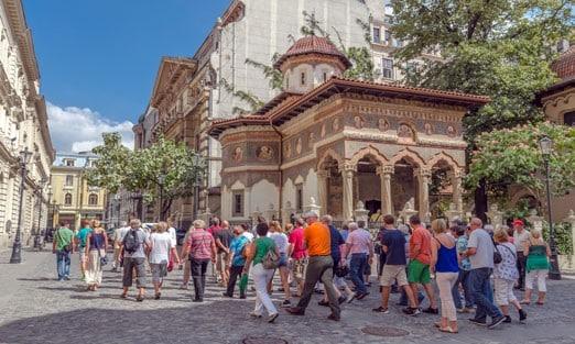 Stavropoleos Church Old Town