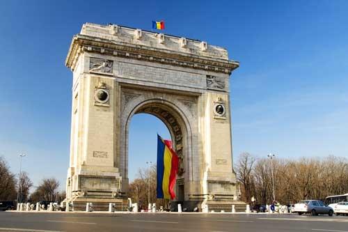 Panoramic Tour of Bucharest Triumphal Arch Bucharest