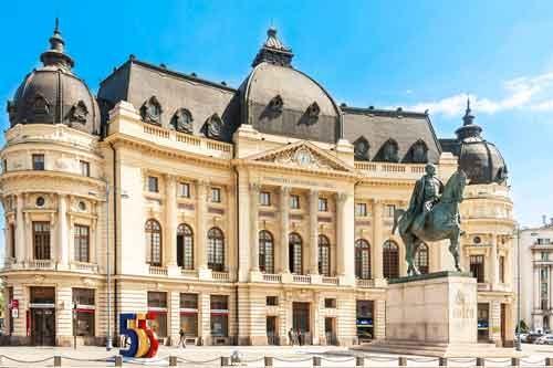 Panoramic Tour of Bucharest University Library Bucharest