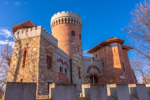 Dracula castle bucharest